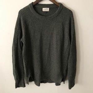 Dark Green Knit Sweater Universal Thread sz small